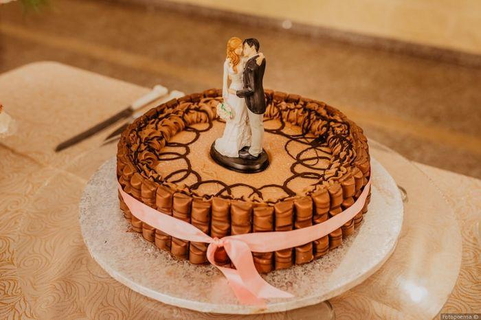 Yo sería feliz con... ¡Esta tarta! 2