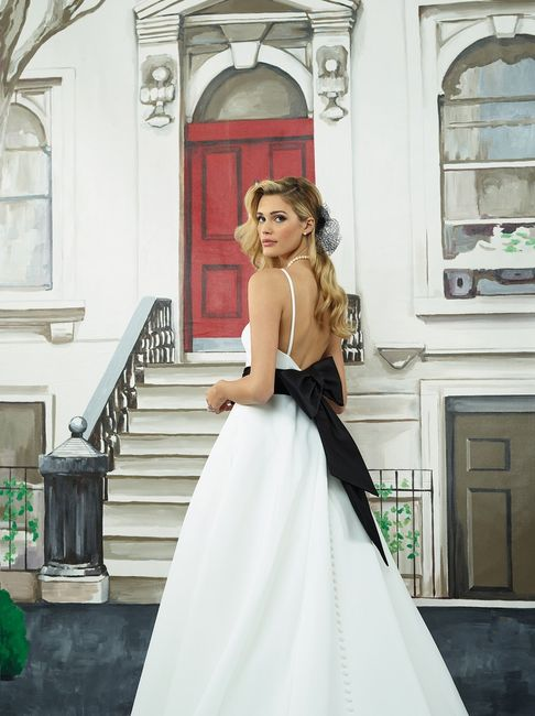 ¿Look de novia con toques negros? 🖤 ¡Es posible! 1