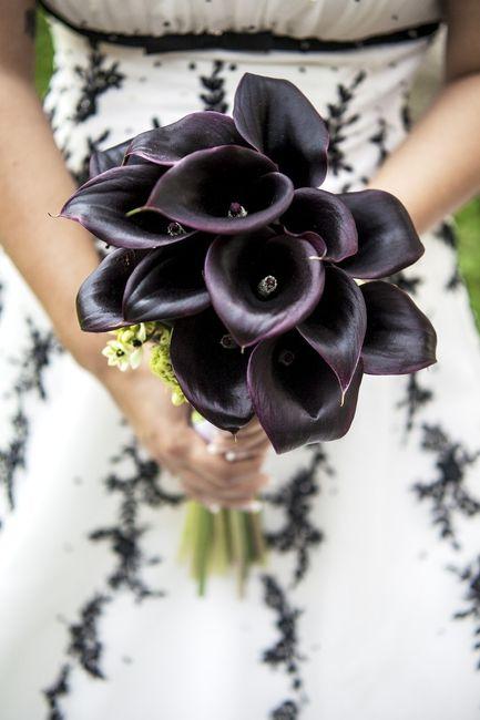 ¿Look de novia con toques negros? 🖤 ¡Es posible! 4