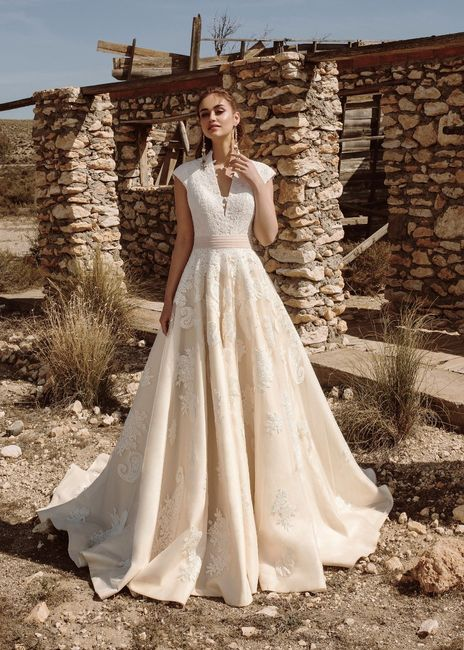 Pomposo o ligero, ¿cómo será tu vestido? 1