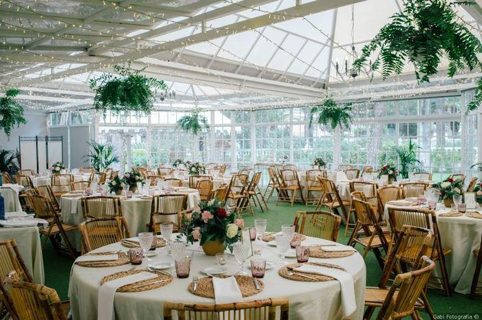 Banquete al aire libre VS Banquete en salón 2