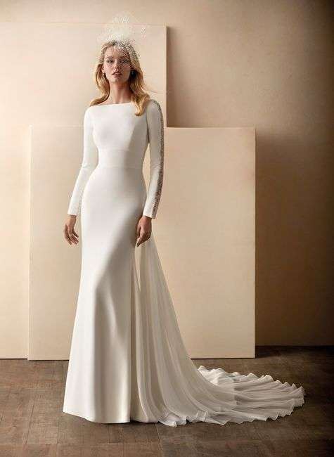¿Qué vestido sirena te hace más gracia? 👰 1