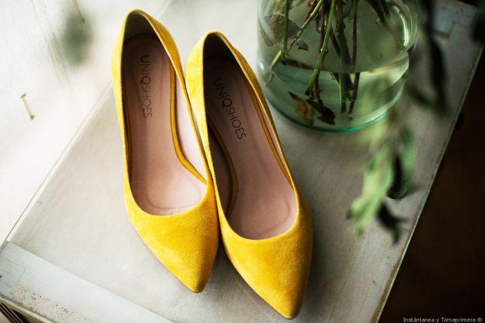 ¿Cuánto os han costado los zapatos de la boda? 1