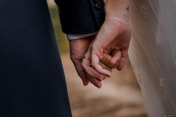 ¿Después de cuánto tiempo juntos decidisteis casaros? 💍 1