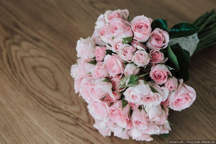¿De qué color/es serán las flores de tu ramo? 1