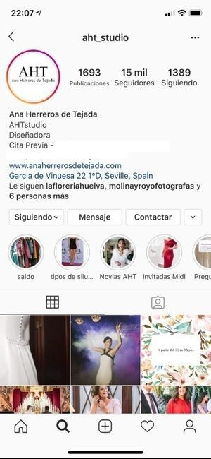 Atelier novias Sevilla 1