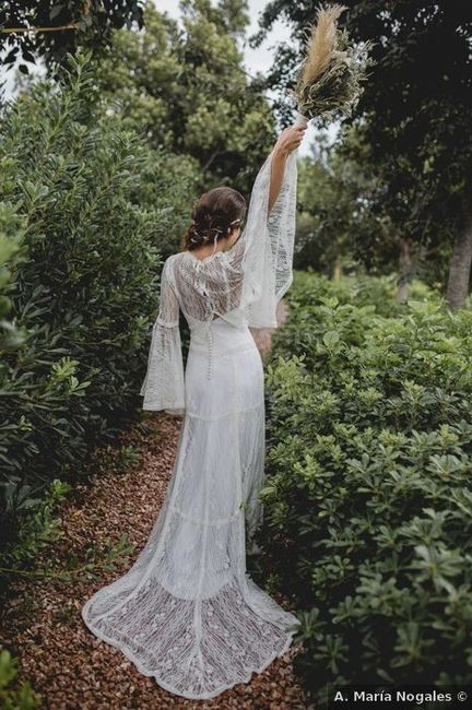 ¿Te gustan los vestidos bohos como éstos? 👰 3