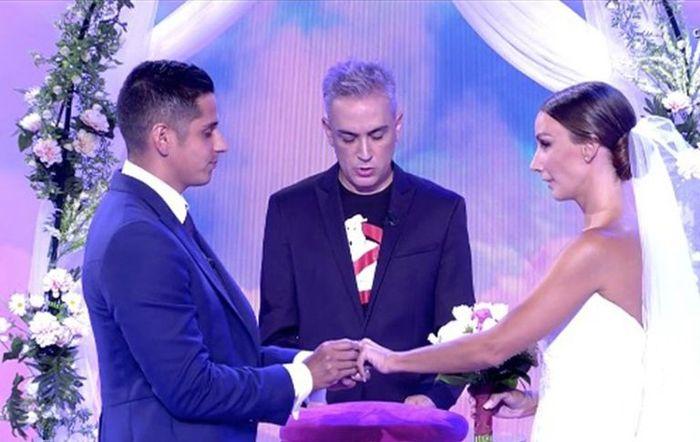 En 'Sálvame' van de boda, ¡Fani y Christofer se han casado! 1