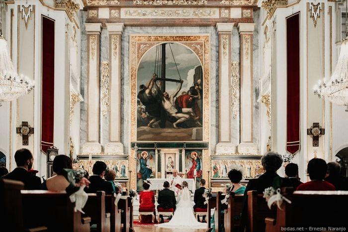 ¿Boda religiosa o boda civil? 2