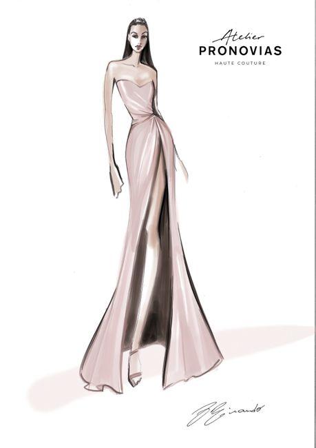Espectacular diseño de Pronovias para Georgina Rodríguez 1