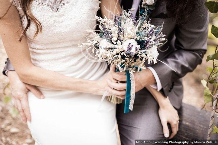 15 maneras de darle un toque morado a tu boda 💜 1