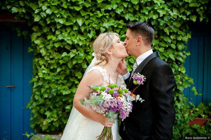 15 maneras de darle un toque morado a tu boda 💜 3