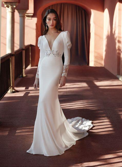 ¿Te atreverías a casarte con este look? 😎 2