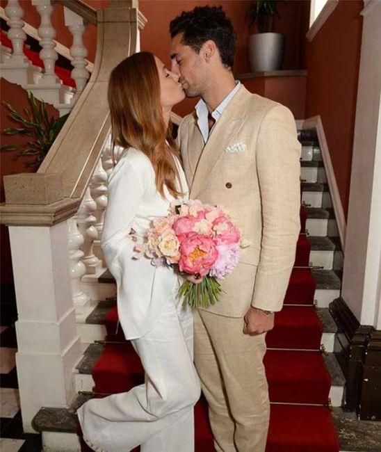 5 parejas famosas que han tenido 2 bodas espectaculares 💍 6