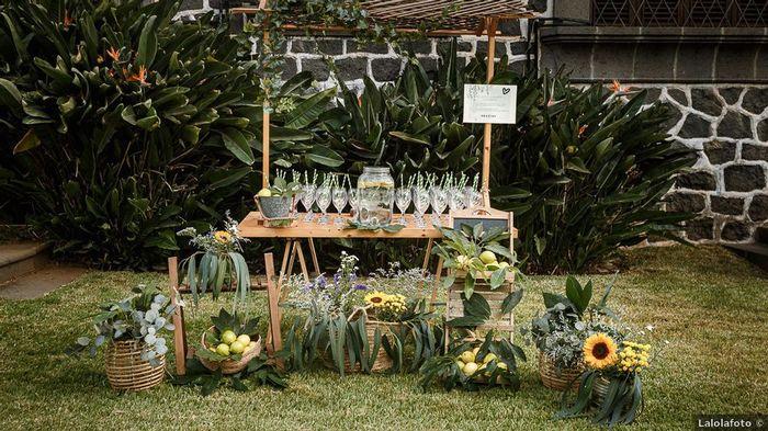 Dale un toque de luz a tu boda con GIRASOLES 🌻 4