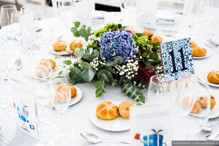 ¿Cómo llamaréis a las mesas de vuestro banquete? 1