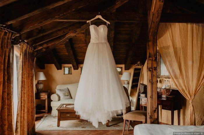 Cuando te probaste el vestido por primera vez, ¿qué pensaste? 😍 1