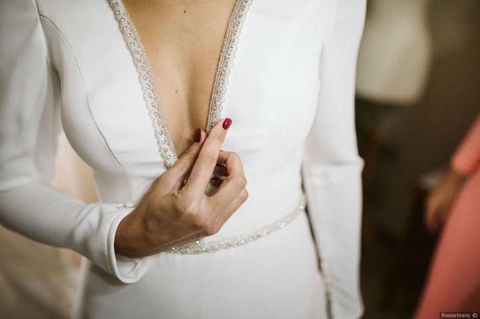 ¿Te gusta este ESCOTE para tu boda? 2