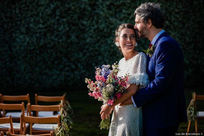 En vuestra boda, ¿Cuántos peques calculáis que habrá? 👶 1