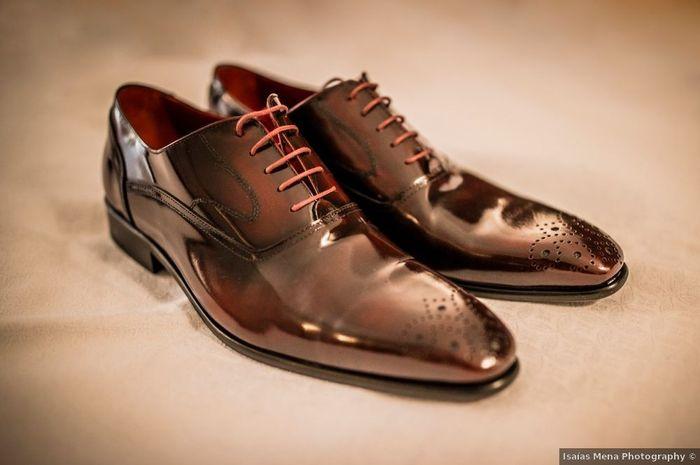 Novios, ¿qué prima a la hora de elegir el calzado de la boda? 👞 1