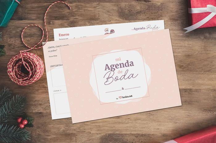 Te regalamos tu agenda de boda por Navidad 🎄 ¡Consíguela aquí! 1