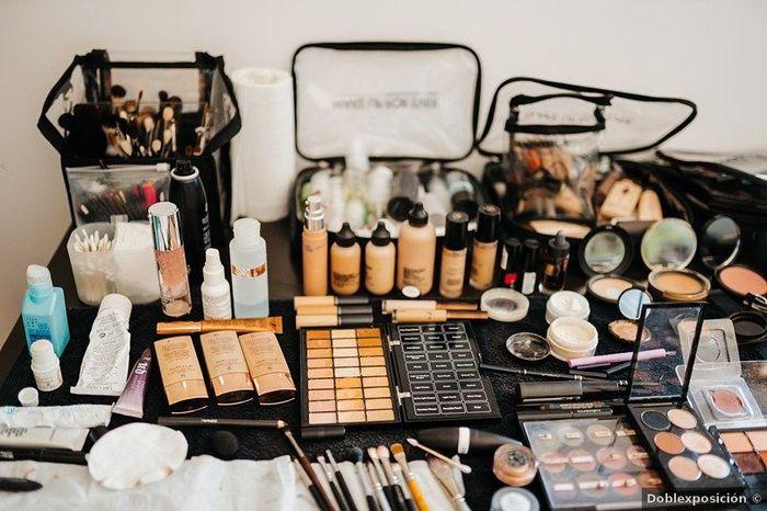 ¿Llevarás tu propio maquillaje o el que te ponga la maquilladora? 1