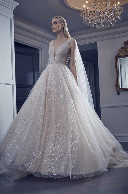 Vestidos de novia con brilli-brilli: ¿sí o no? 1