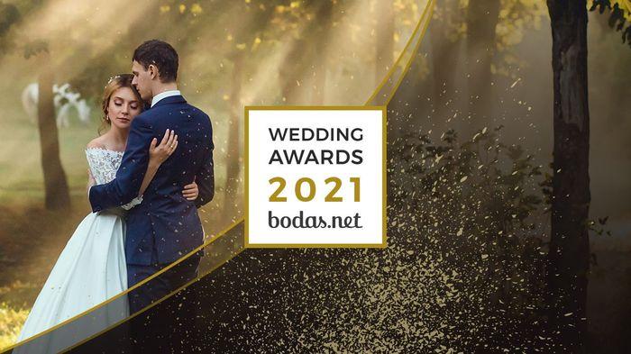 ¡Conoce los ganadores de los Wedding Awards 2021! 💗 1