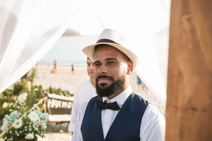 Novios con sombrero: ¿qué os parece esta idea? 1