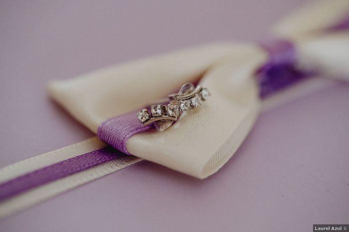 ¿Acaso es el lila vuestro color de boda? 💜 1