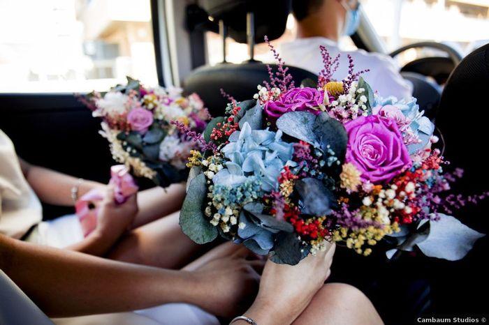 ⚠️ Ramo de flores solo para novias muy atrevidas 1