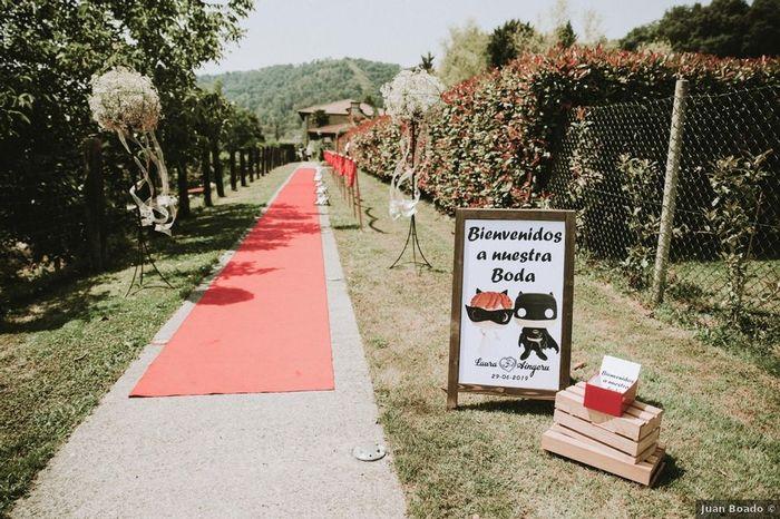 Cartel de bienvenida, ¡no puede faltar en tu boda! - Mira estas 7 ideas 😉 - 3