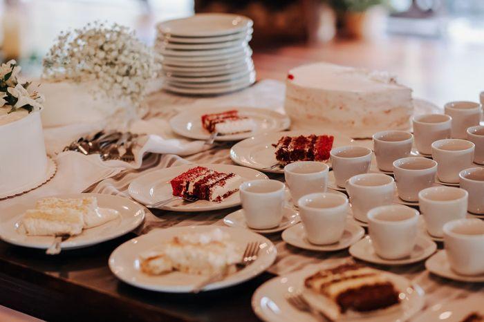 ¿Qué prefieres, elegir el menú o la tarta de bodas? 1