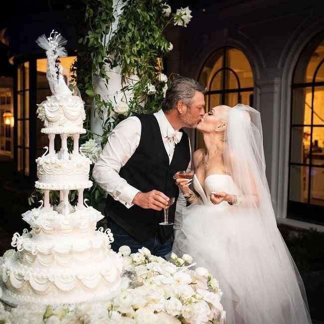 ¡Muchas felicidades a Gwen Stefani y Blake Shelton! 💍 - 3