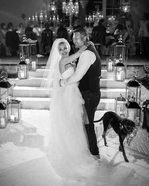 ¡Muchas felicidades a Gwen Stefani y Blake Shelton! 💍 - 4
