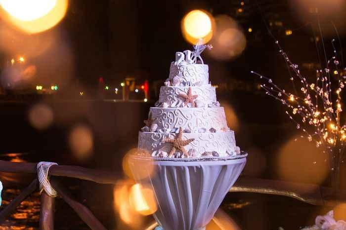 Inspiración tartas para bodas en la playa - 5