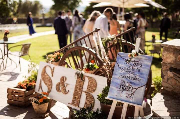 Cartel de bienvenida, ¡no puede faltar en tu boda! - Mira estas 7 ideas 😉 - 2