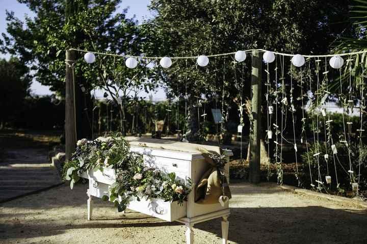 3 altares de boda originales y diferentes - 1