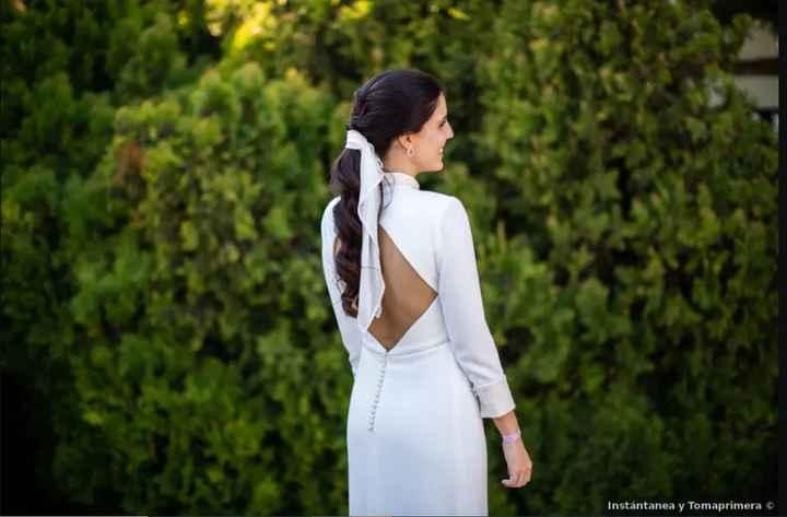 6 maneras de lucir lazo en tu peinado de novia - 1