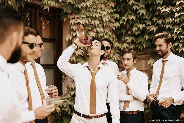 ¿Cómo reaccionarías si tu pareja llega a la boda con resaca? - 1