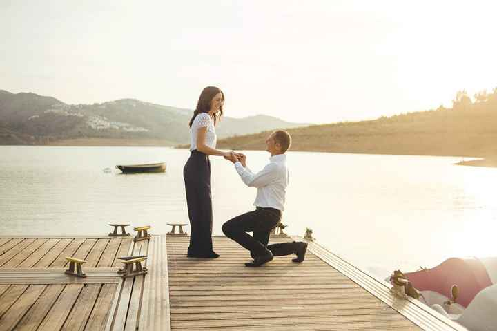 ¿Tu pareja se arrodilló para pedirte matrimonio? - 1