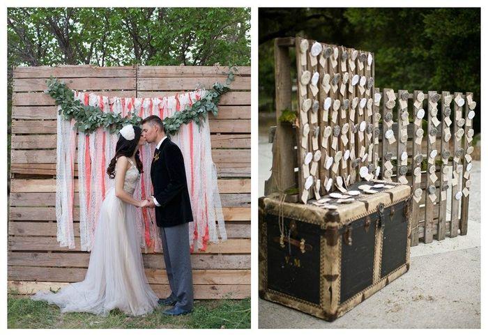 Palets boda