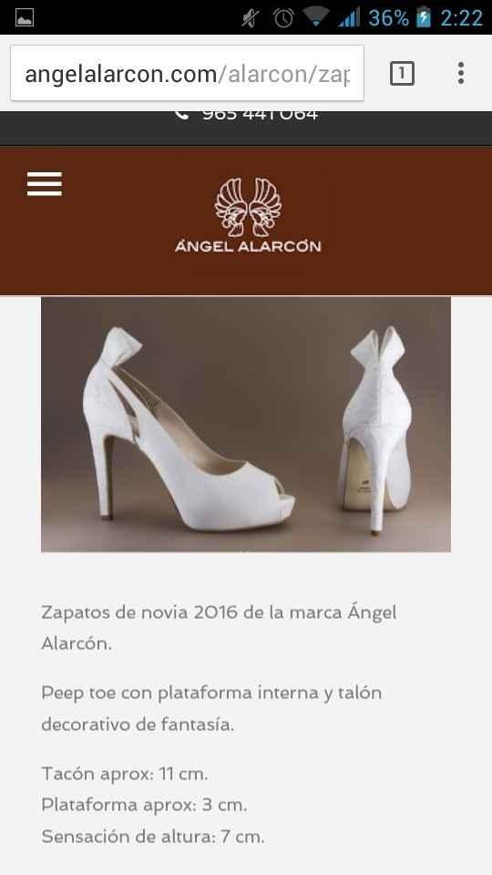 Zapatos angel alarcón - 1