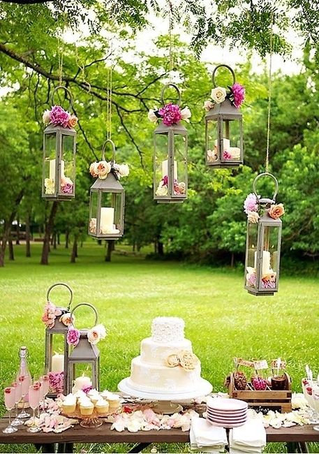 decoracion jardin boda necesito ideas para decorar
