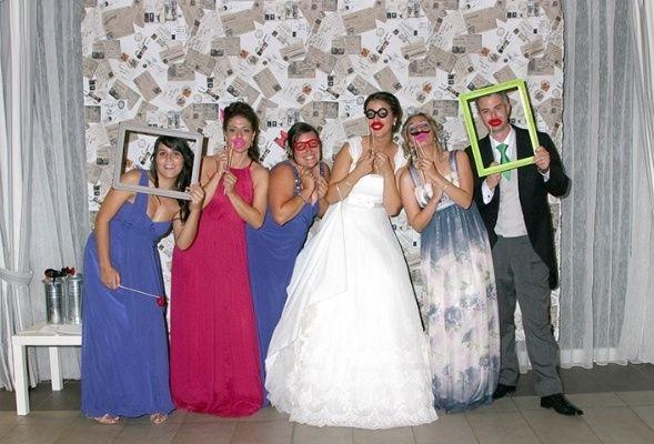 Ideas photocall manualidades foro - Photocall boda casero ...
