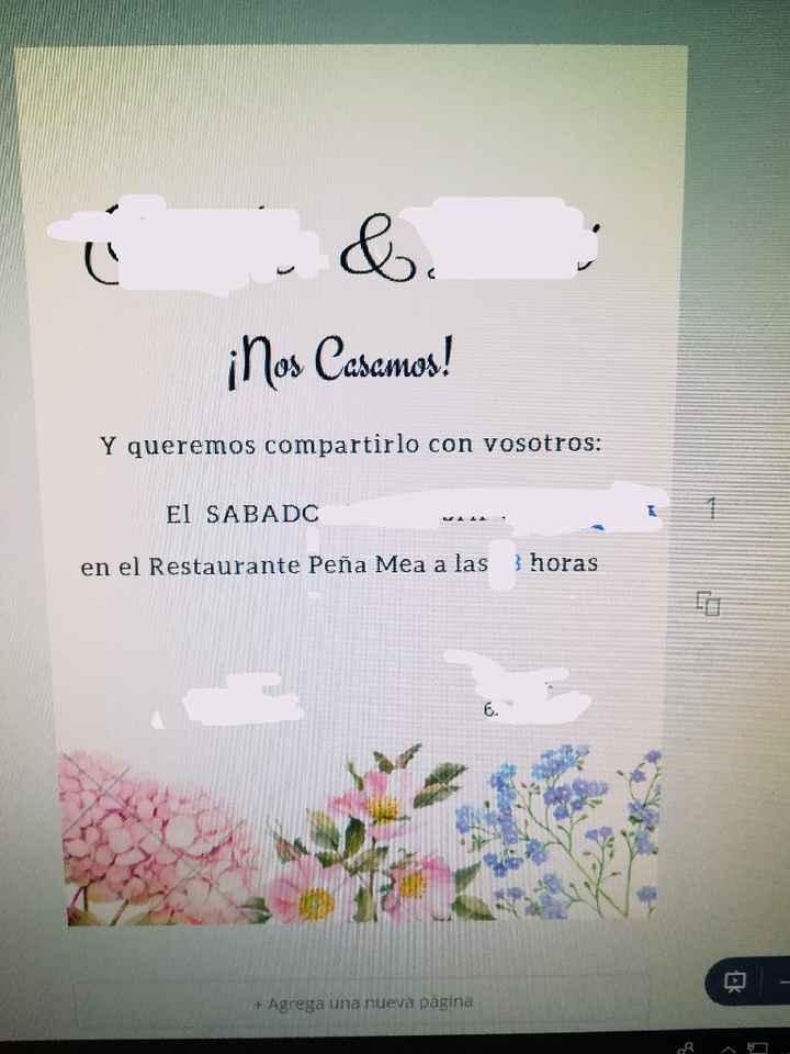 Invitaciones diy - 2