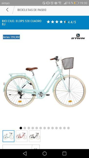 Entrada al salón en bicicleta - 1