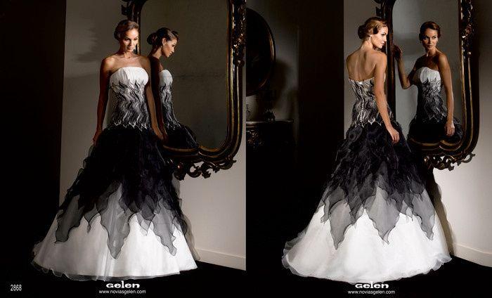 vestido de novia blanco y negro - página 2 - moda nupcial - foro