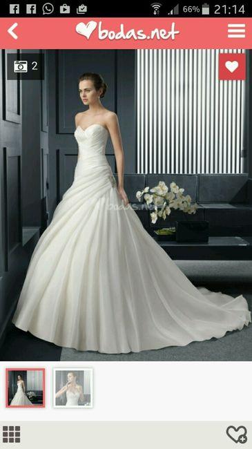 este es mi vestido de novia pero nose que ponerme de pendientes y si