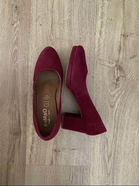 ¿De qué color serán vuestros zapatos? 8